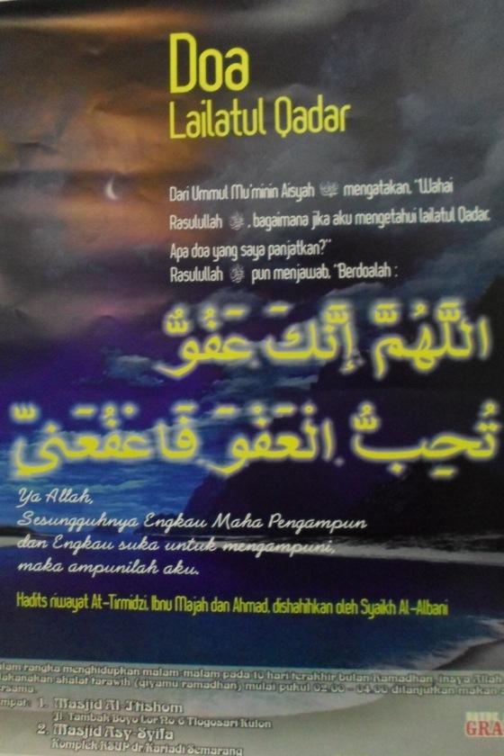 doc. An: do'a Lailatul Qadar